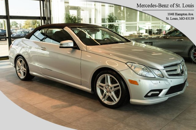 Pre-Owned 2011 Mercedes-Benz E-Class E 550