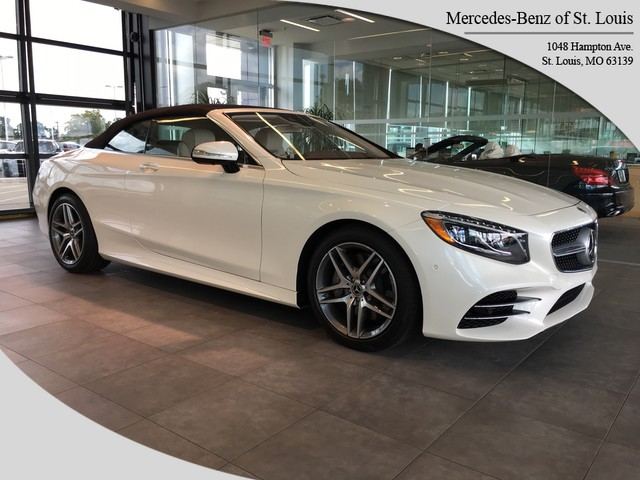 New 2019 Mercedes Benz S 560 Sport Rear Wheel Drive Cabriolet