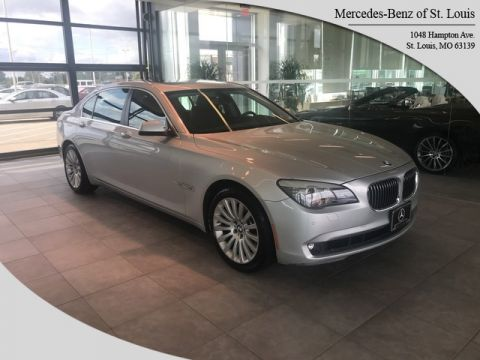 Pre-Owned 2012 BMW 7 Series 750Li xDrive